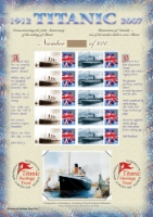 RMS Titanic: 95th Anniversary History of Britain No.7