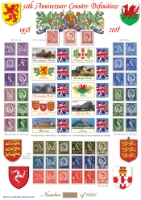 Country Definitives 1958-2008 History of Britain No.22