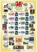 Stamps of Wales History of Britain No.35