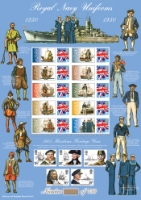 Royal Navy Uniforms History of Britain No.41