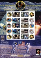 Moon Landing 1969-2009 Isle of Man No.3