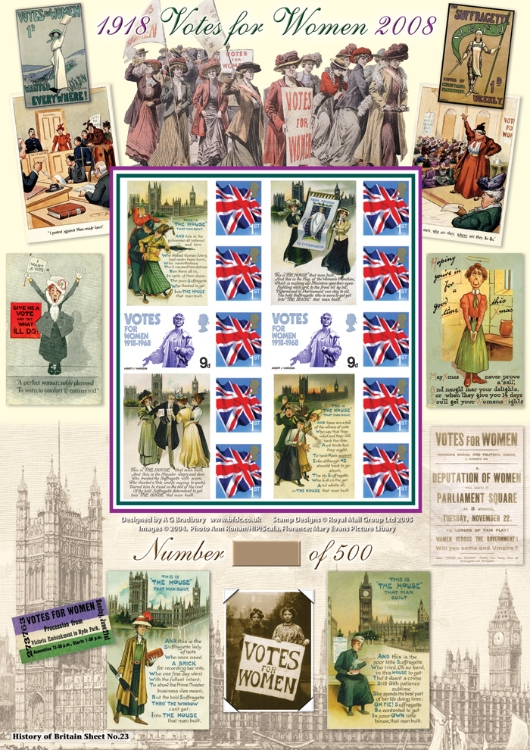 Suffragettes - Votes for Women 1918-2008