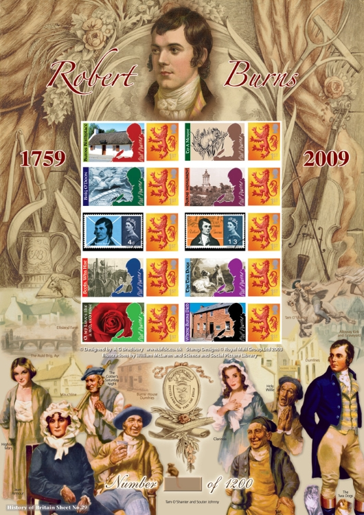 Robert Burns: 250th Anniversary