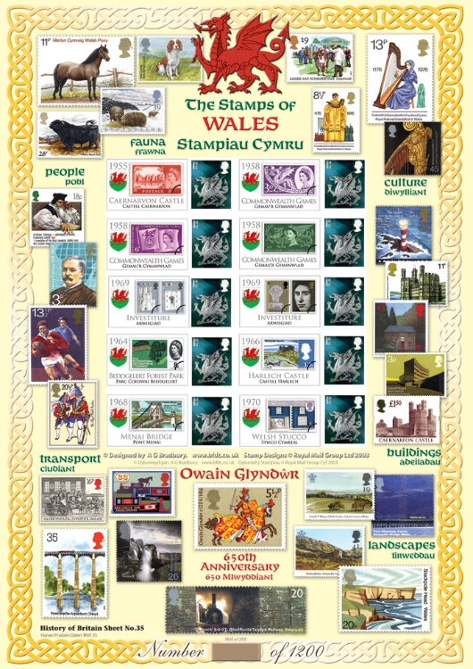 Stamps of Wales