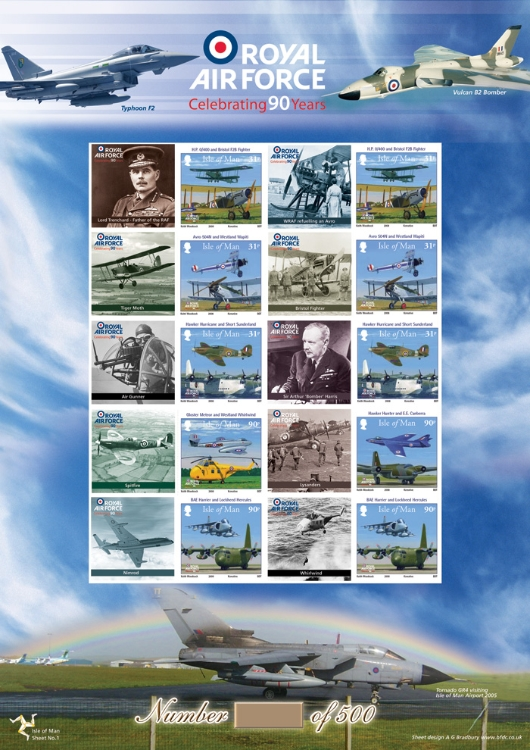 90th Anniversary of the RAF