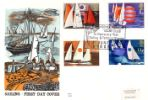 11.06.1975 Sailing Yachting & Sailing Benham, Woodcut No.0