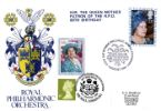 Queen Mother 80th Birthday Double dated on 99th Birthday Producer: Stamp Publicity