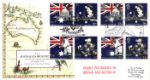 Australian Bicentenary Early Map of Australia - Double dated covers