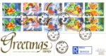 Greetings Stamps CDS Postmarks