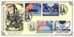 03.05.1994 Channel Tunnel Tunnelling Society double pmk Bradbury, Victorian Print No.85