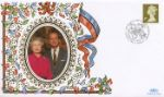 21.04.1997 Window: Gold Definitives: 10 x 1st The Queen & Prince Philip Benham, 1997 Small Silk (Special) No.11