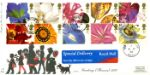Flower Paintings (Greetings) People Silhouettes Producer: Fourpenny Post Series: 4d (1997.01)