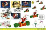 Christmas 1997 Santa riding a Cracker Producer: Derek Williams Series: GB (10)