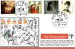 Entertainers' Tale Postcard FDC signed by Arsenal Players