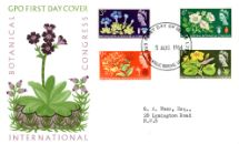 05.08.1964 Botanical Congress Spring Gentian Royal Mail/Post Office