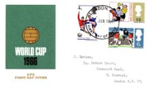 01.06.1966 World Cup Football GPO cover Royal Mail/Post Office