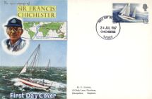 24.07.1967 Sir Francis Chichester Gypsy Moth & Route Connoisseur