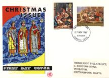 18.10.1967 Christmas 1967 (4d) The Three Kings Wessex