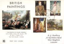 12.08.1968 British Paintings 1968 The Death of Major Peirson Wessex