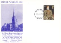 12.08.1968 British Paintings 1968 St Mary Redcliffe Bristol