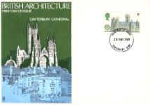 28.05.1969 British Cathedrals Canterbury Cathedral Trident