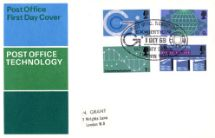 01.10.1969 Post Office Technology Post Office FDC Royal Mail/Post Office