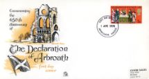 01.04.1970 General Anniversaries 1970 Declaration of Arbroath Sovereign