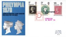 18.09.1970 'Philympia' Victoria & Elizabeth Royal Mail/Post Office