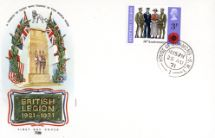 25.08.1971 General Anniversaries 1971 British Legion Philart