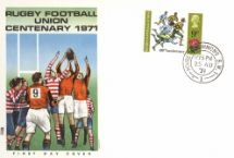 25.08.1971 General Anniversaries 1971 Rugby Football Union Philart