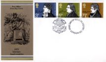 28.07.1971 Literary Anniversaries 1971 The Thinker Royal Mail/Post Office