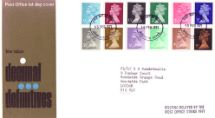 15.02.1971 Machins: Decimal Values Low Value Decimal Definitives Royal Mail/Post Office