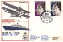 20.11.1972 Silver Wedding 1972 RAF Mountbatten Forces