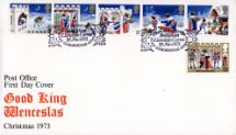 28.11.1973 Christmas 1973 Good King Wenceslas Royal Mail/Post Office