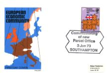 03.01.1973 European Communities Commissioning New Parcel Office Philart