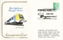 05.05.1975 High Speed Train First Passenger Service Cotswold