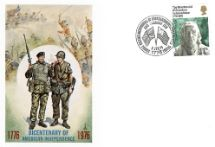 02.06.1976 USA Bicentenary: 11p British & American Forces Forces