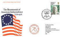 02.06.1976 USA Bicentenary: 11p Interphil 76 Royal Mail/Post Office