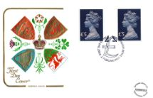 02.02.1977 Machins: High Values Set Coats of Arms of the United Kingdom Cotswold