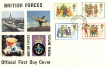 22.11.1978 Christmas 1978 British Forces Postal Service Forces