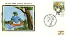 11.07.1979 Year of the Child Toad in Boat Colorano Silk