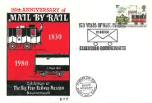 11.11.1980 Mail by Rail 150th Anniversary Big 4 Rly Museum