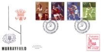 10.10.1980 Sports Centenaries Murrayfield Special Cover Official Sponsors