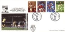 10.10.1980 Sports Centenaries Norfolk Football Club Markton Stamps