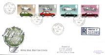 13.10.1982 British Motor Cars CDS postmarks Royal Mail/Post Office