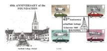 13.10.1982 British Motor Cars Nuffield College Oxford Official Sponsors