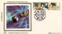 08.09.1982 Information Technology Space Age Communications Benham, 1982 Small Silk No.6.2