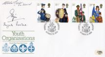 24.03.1982 Youth Organisations Signed Lord Elgin Royal Mail/Post Office
