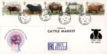 06.03.1984 British Cattle CDS Postmarks Royal Mail/Post Office