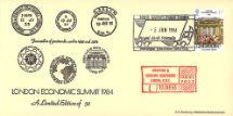 05.06.1984 Economic Summit Parcel Post Bradbury
